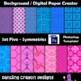 Background / Digital Paper Creator -Photoshop Template - Background BUNDLE