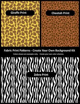 Background / Digital Paper Creator -Photoshop Template -Fabric Print Backgrounds