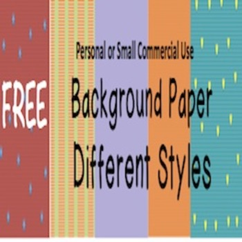 Background Paper Different Styles: Commercial and Personal Use