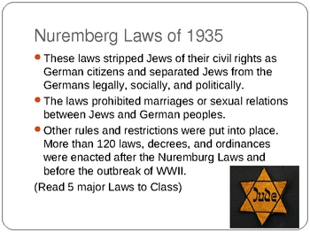 Background History for Elie Wiesel's