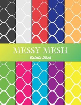 Background (Bright) - Messy Mesh