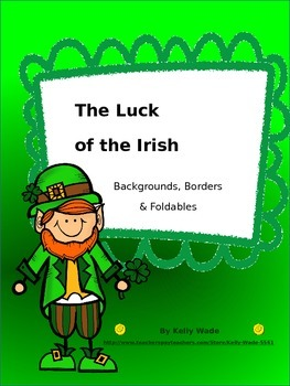 Background Pages ~ Luck of the Irish