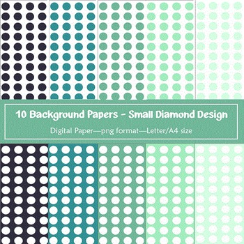 Background Paper - 10 Spots Designs Digital Papers