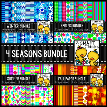 Background Paper - 4 Seasons Bundle