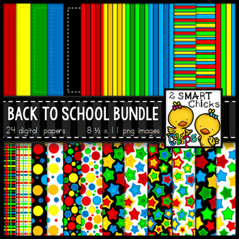 Background Paper – Back to School Bundle