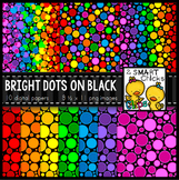 Background Paper – Bright Dots on Black Bundle