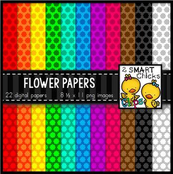 Background Paper – Flower Bundle