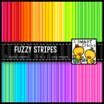 Background Paper – Fuzzy Stripes Bundle