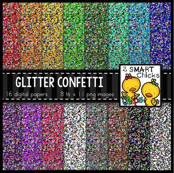 Background Paper – Glitter Confetti Bundle