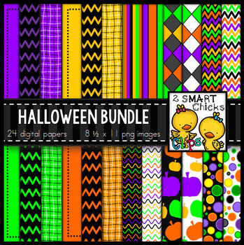 Background Paper – Halloween Bundle