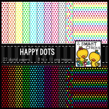Background Paper – Happy Dots Bundle
