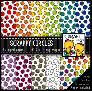 Background Paper – Scrappy Circles