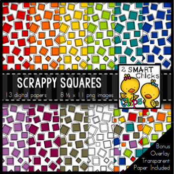 Background Paper – Scrappy Squares