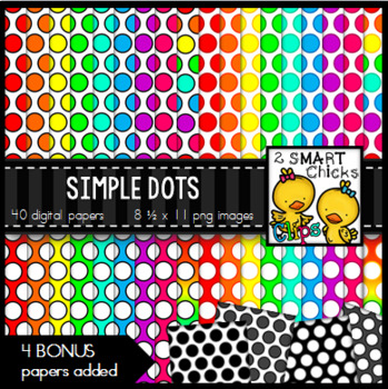 Background Paper – Simple Dots Bundle
