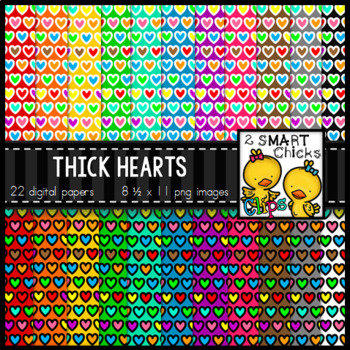 Background Paper – Thick Hearts Bundle