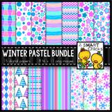 Background Paper – Winter Pastel Bundle
