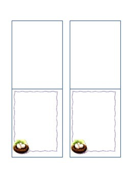 Background Papers ~ Easter Themed Frames, Foldables ...
