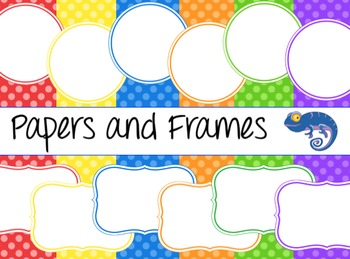 Background Papers and Digital Frames