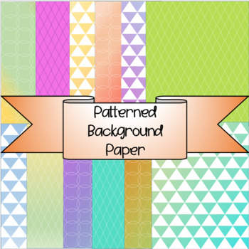 Background Patterned Paper