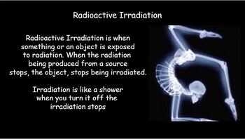 Background Radiation and methods of detecting radiation