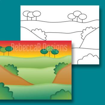 Landscape Clip Art