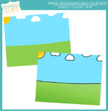 Background Scenes Clip Art Freebie