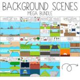 Background Scenes Mega Bundle by Bunny On A Cloud