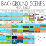 Background Scenes Mega Bundle by Bunny On A Cloud