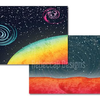 Landscape Clip Art (Space)