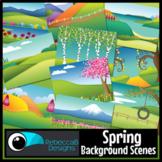 Spring Landscape Clip Art