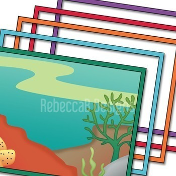 Landscape Clip Art (Under the Sea)