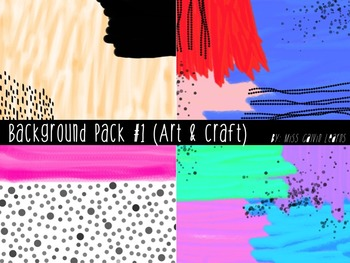Backgrounds Set #1 (Art and Craft)