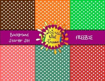 Background Starter Set - FREEBIES!