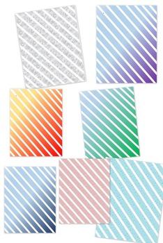 Background Templates - Diagonal Stripes