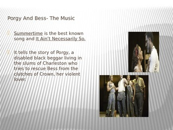 Background of American Opera