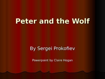 """Background on """"Peter and the Wolf"""""""