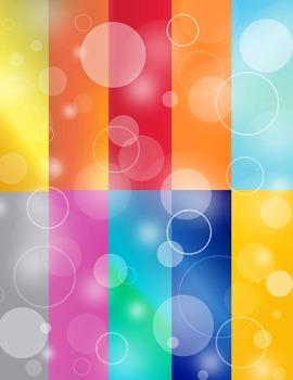 Bubble Circles Background Paper