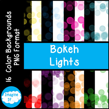 Backgrounds-Bokeh Lights