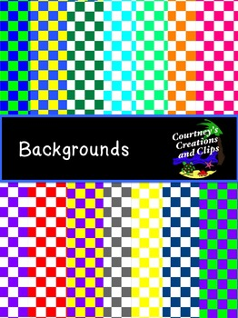 Backgrounds {Checkers} for Personal and Commercial Use- Freebie