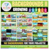 Backgrounds Clip Art BUNDLE! (Set II)