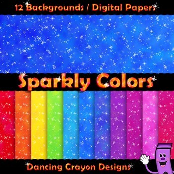 Backgrounds / Digital Papers - Sparkly
