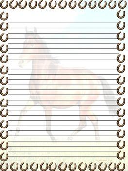 Backgrounds & Frames ~ Horse & Western