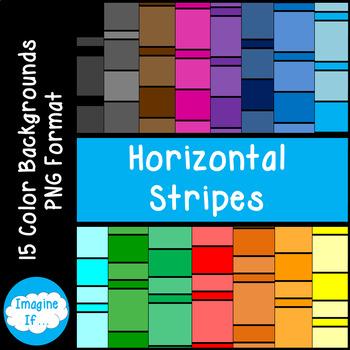 Backgrounds-Horizontal Stripes