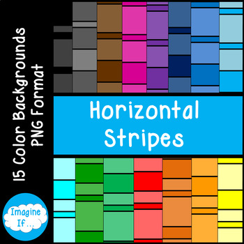 Backgrounds-Horizontal Stripes