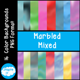 Backgrounds-Marbled Mixed