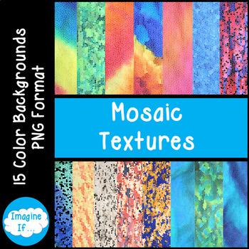 Backgrounds-Mosaic Textures