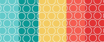 Backgrounds (Orange, Teal, Yellow)