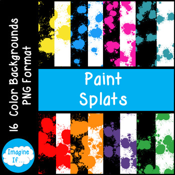 Backgrounds-Paint Splats