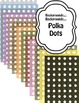 Backgrounds - Pastels and Polka Dots