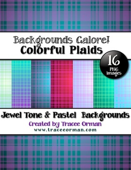 Backgrounds Plaid Colors Digital Paper Clip Art
